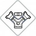 Колодки тормозные передние дисковые, комплект Mazda